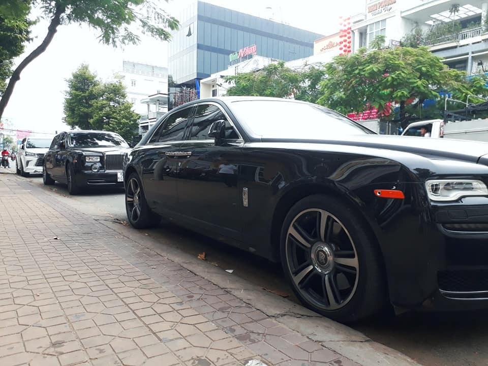 Rolls-Royce Ghost Series II độ mâm Wraith