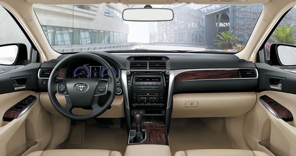 Thiết kế Nội thất của xe Toyota Camry
