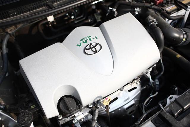 Trang bị Động cơ của Toyota Vios