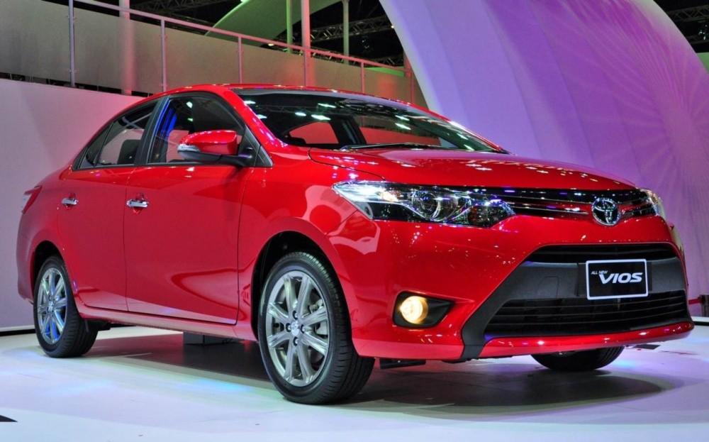 Thiết kế ngoại thất của xe Toyota Vios