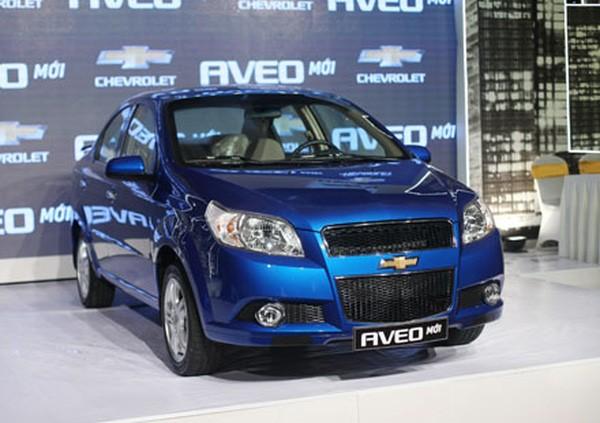 Xe Chevrolet Aveo