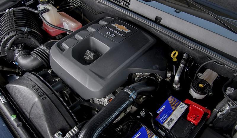 Trang bị Động cơ của Chevrolet Colorado
