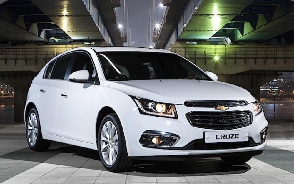 Thiết kế ngoại thất của Chevrolet Cruze 2018