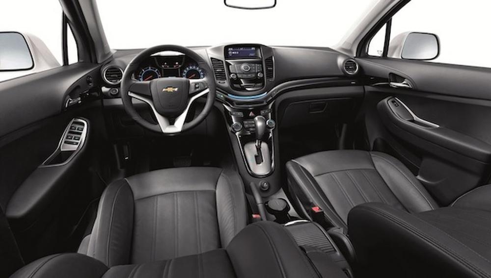 Thiết kế Nội thất của Chevrolet Orlando