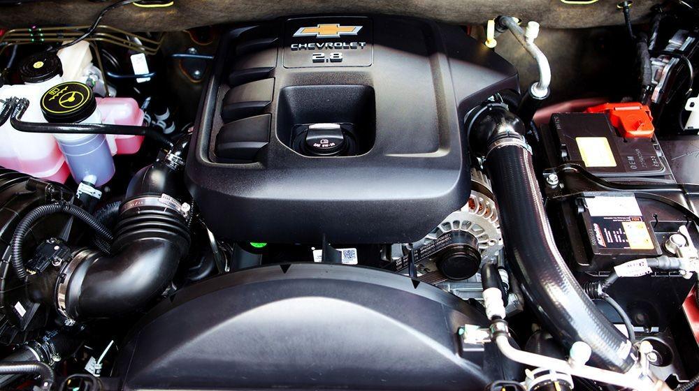 Trang bị Động cơ của Chevrolet Trailblazer 2018