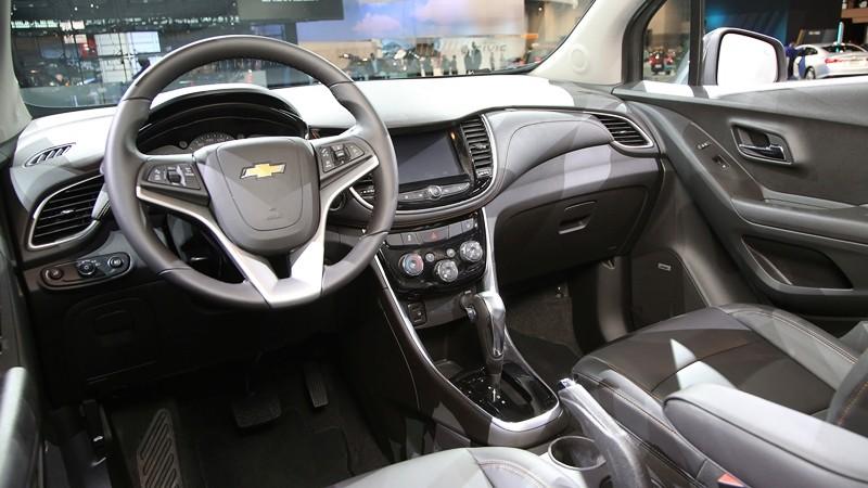 Thiết kế Nội thất của Chevrolet Trax