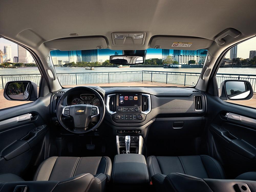 Thiết kế Nội thất của Chevrolet Trailblazer