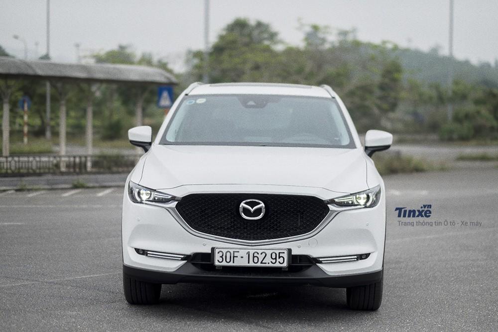 Mazda CX-5 2018 với nhiều nâng cấp đáng giá cả về ngoại thất, nội thất cũng như các tính năng vận hành