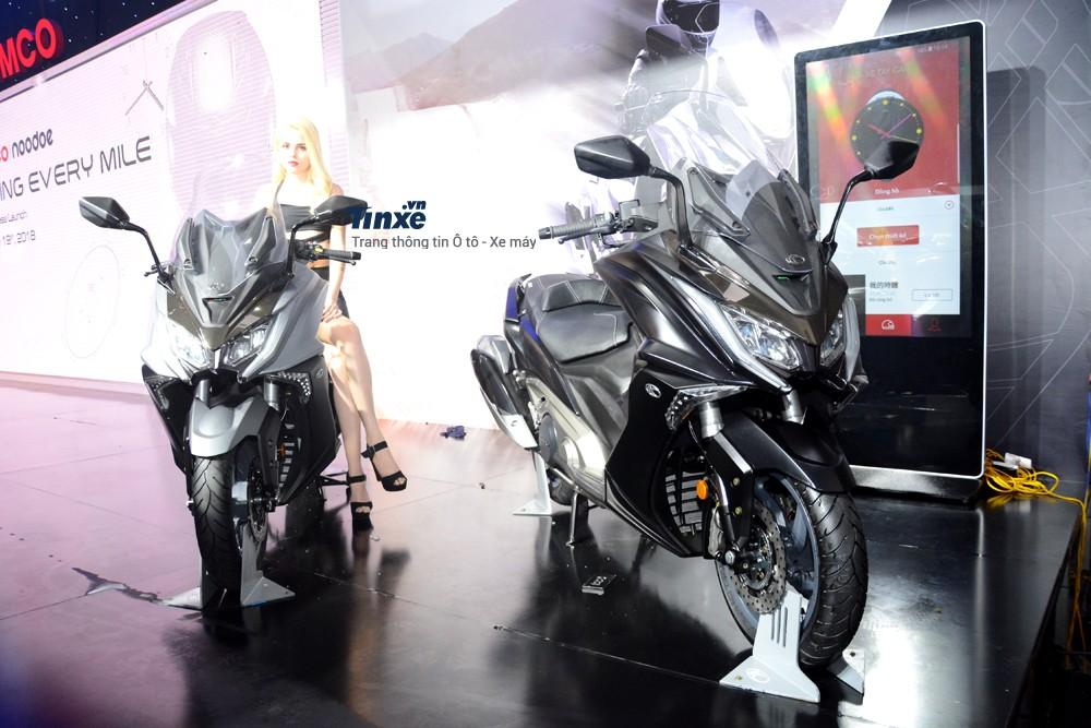 Kymco đã giới thiệu đến 2 chiếc xe ga mới sử dụng công nghệ hệ thống thông minh Noodoe