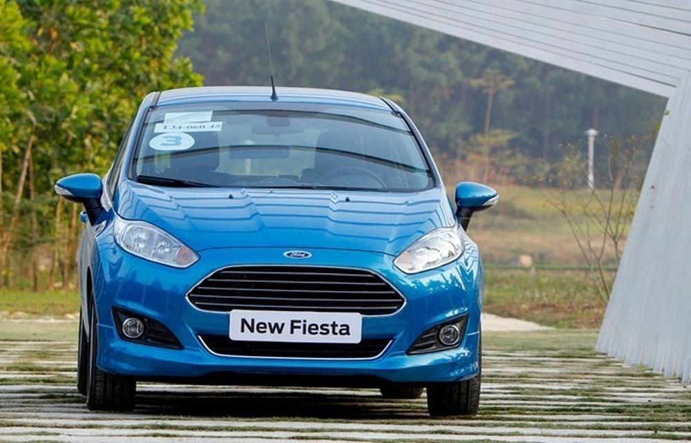 Thiết kế Ngoại thất của Ford Fiesta