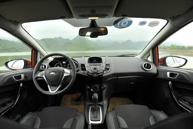 Thiết kế Nội thất của Ford Fiesta