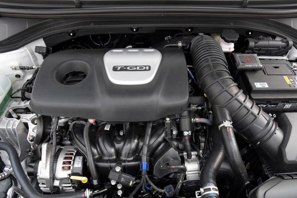 Trang bị Động cơ của Hyundai Elantra