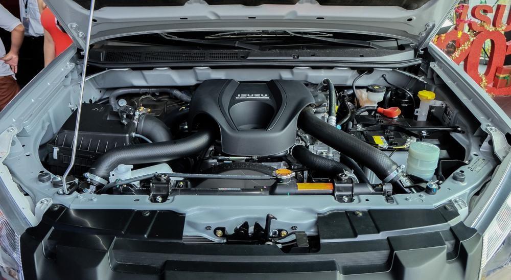 Trang bị Động cơ của Isuzu D-Max