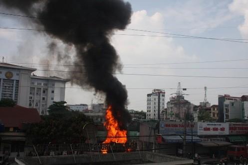Cháy do xăng