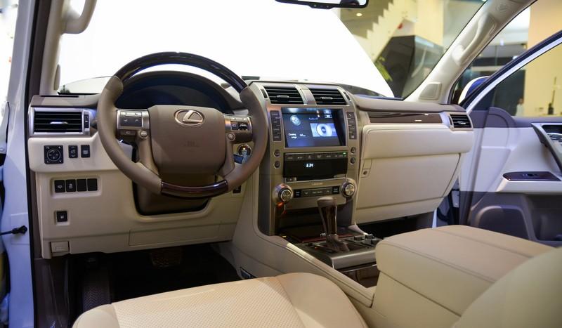 Thiết kế Nội thất xe Lexus GX