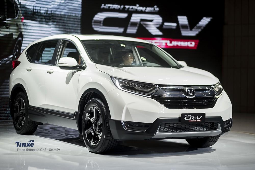 Honda CR-V 2018 là mẫu xe bán chạy nhất của Honda trong tháng 4