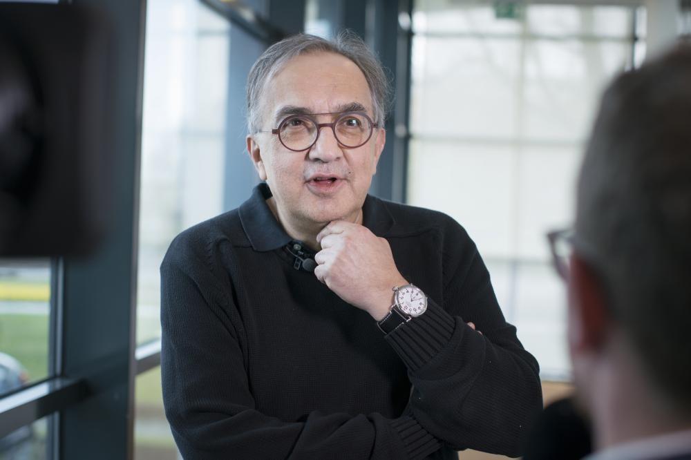 Ông Sergio Marchionne, CEO của Ferrari