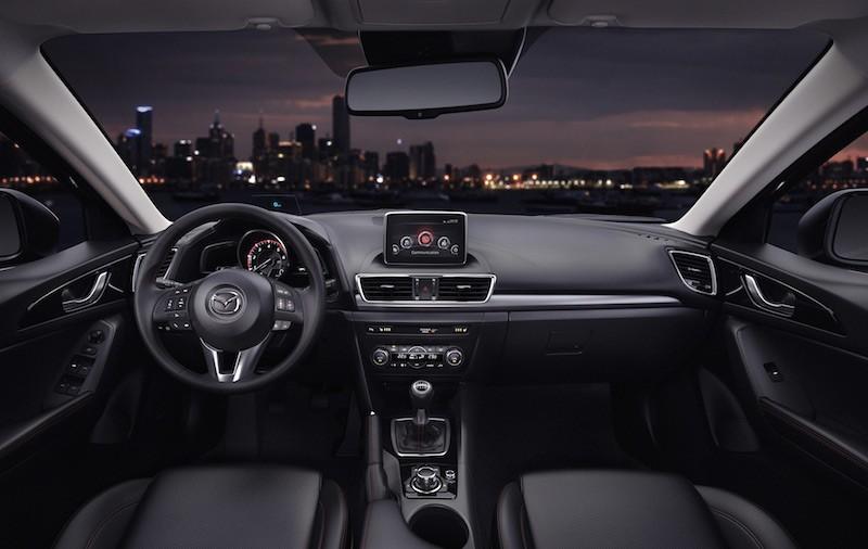 Thiết kế Nội thất của Mazda3