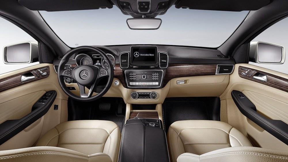 Thiết kế Nội thất của Mercedes-Benz GLE 2018