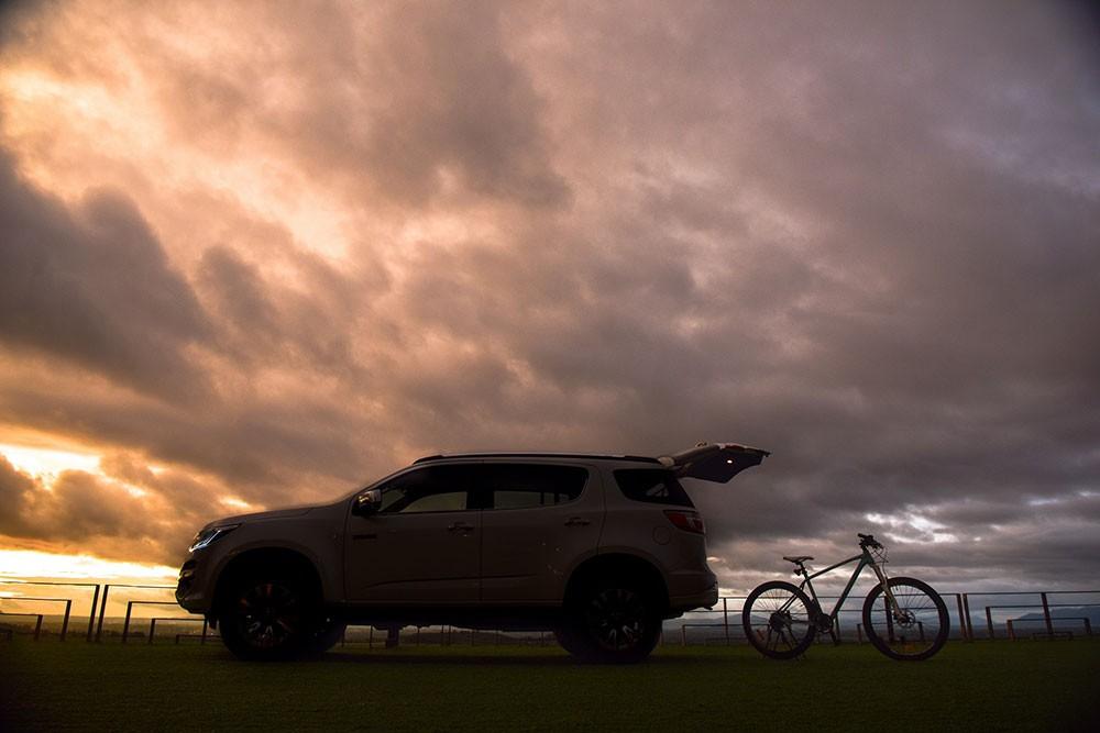 SUV có thể chở theo xe đạp