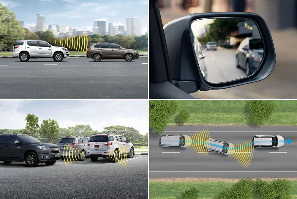 Hệ thống an toàn của Chevrolet Trailblazer