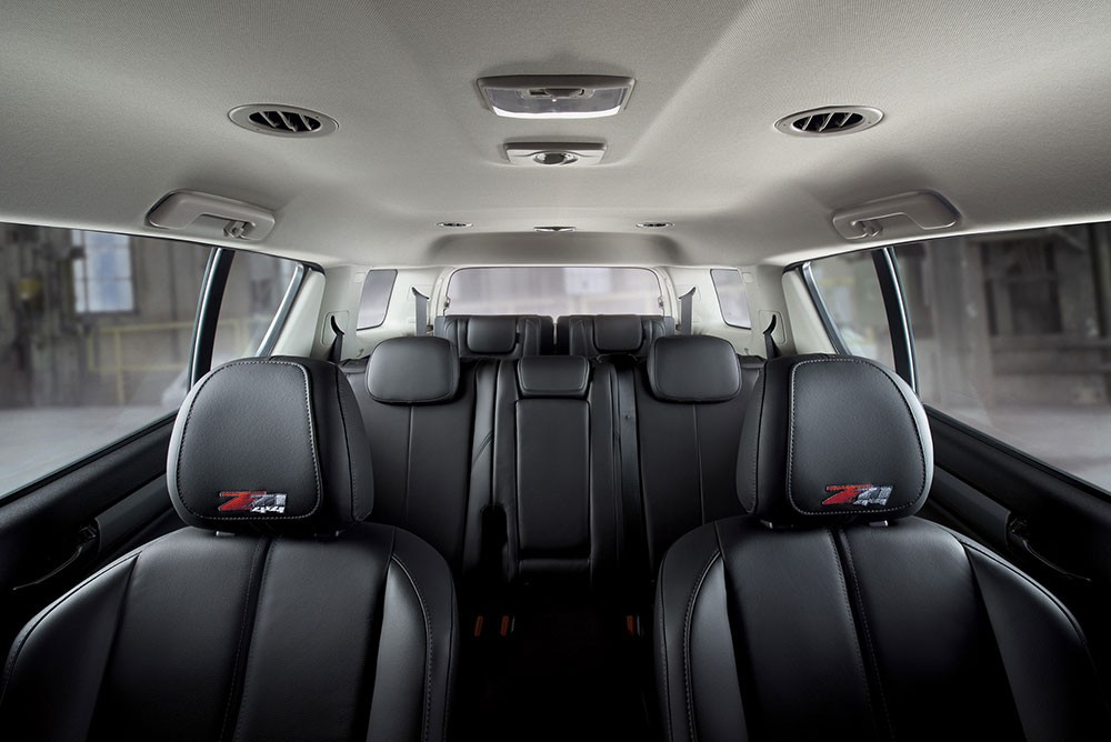 Ghế của Chevrolet Trailblazer