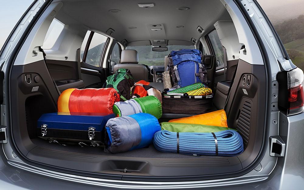 Khoang hành lý của Chevrolet Trailblazer