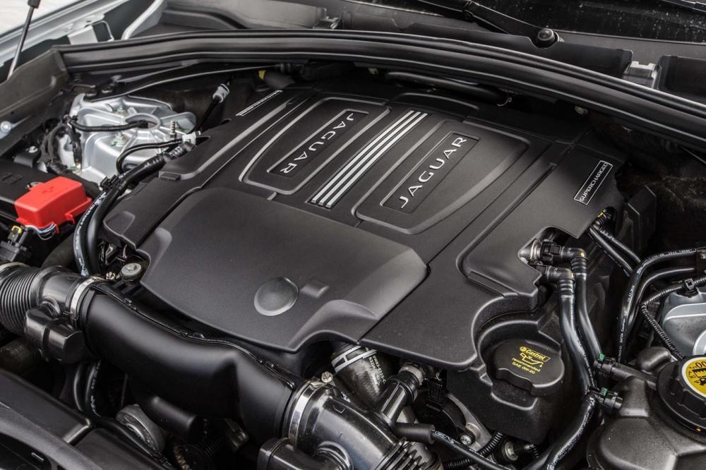 Trang bị động cơ của Jaguar F-Pace