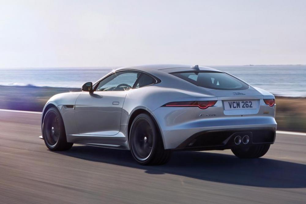 Thiết kế ngoại thất của xe Jaguar F-Type