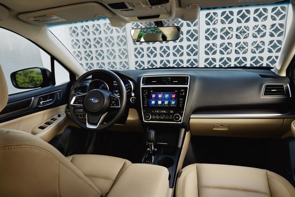 Thiết kế Nội thất của Subaru Legacy 2018