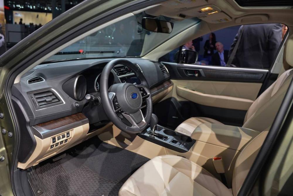 Thiết kế Nội thất của Subaru Outback 2018