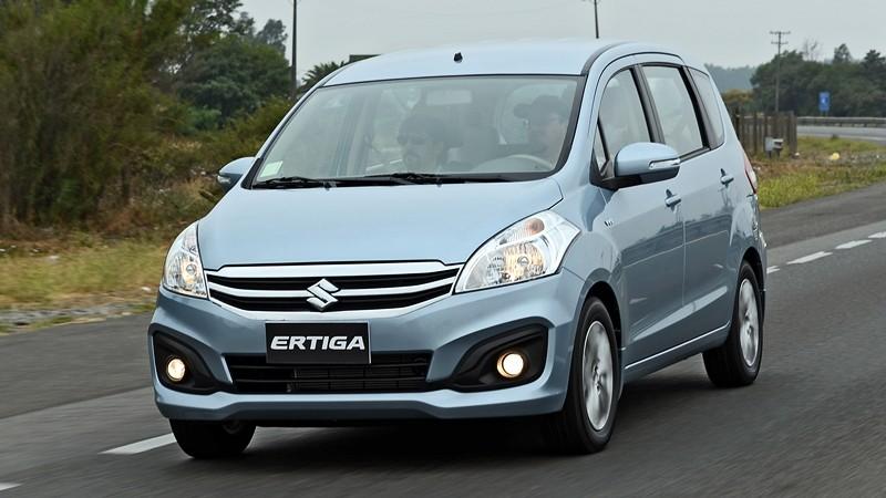 Thiết kế Ngoại thất xe Suzuki Ertiga