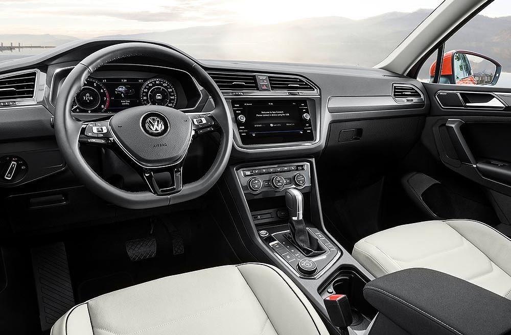 Thiết kế Nội thất của Volkswagen Tiguan 2018