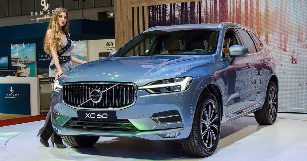 Thiết kế Ngoại thất xe Volvo XC60 2018