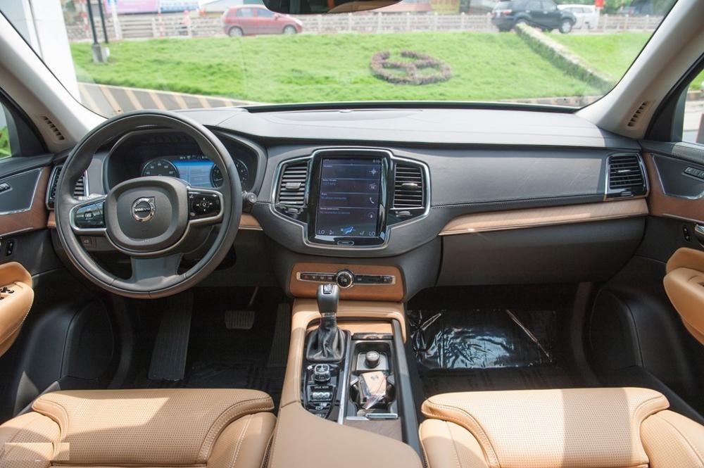 Thiết kế Nội thất của Volvo XC90 2018