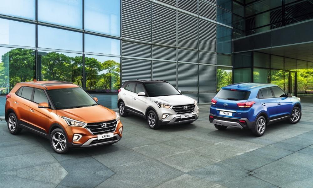 Các màu sơn của Hyundai Creta 2018
