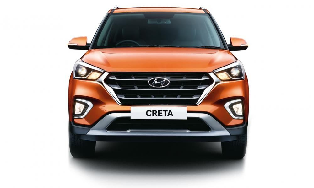 Cận cảnh đầu xe của Hyundai Creta 2018