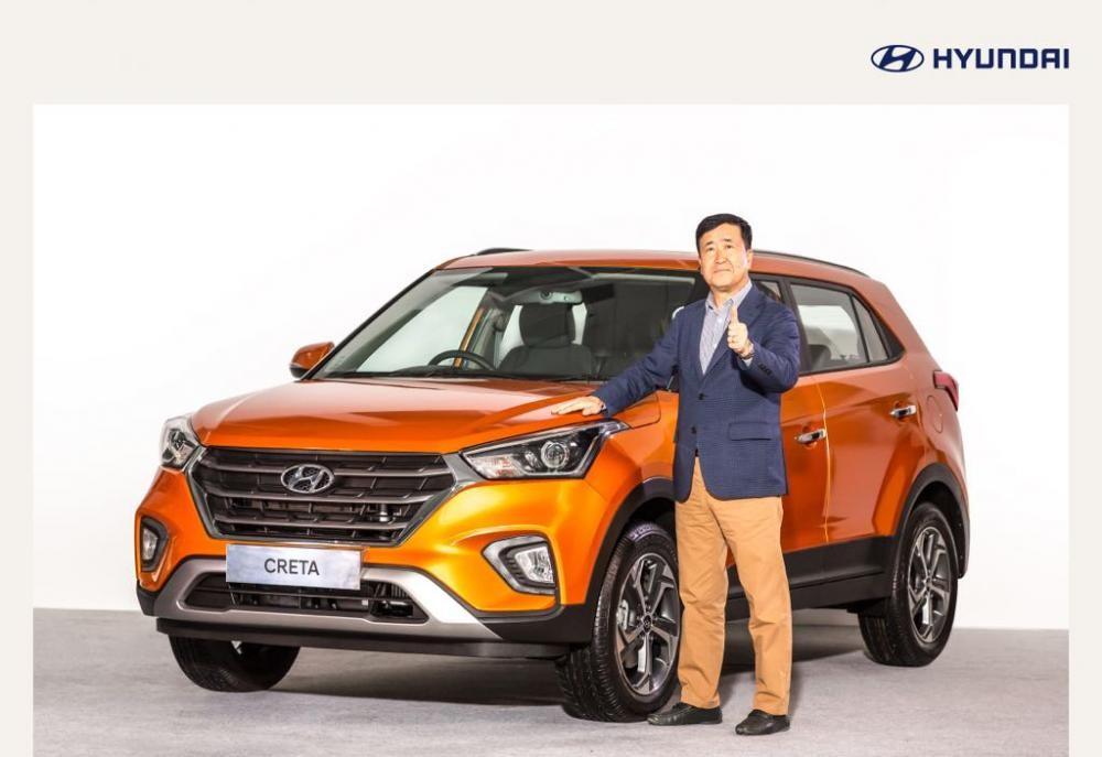 Hyundai Creta 2018 chính thức ra mắt tại Ấn Độ