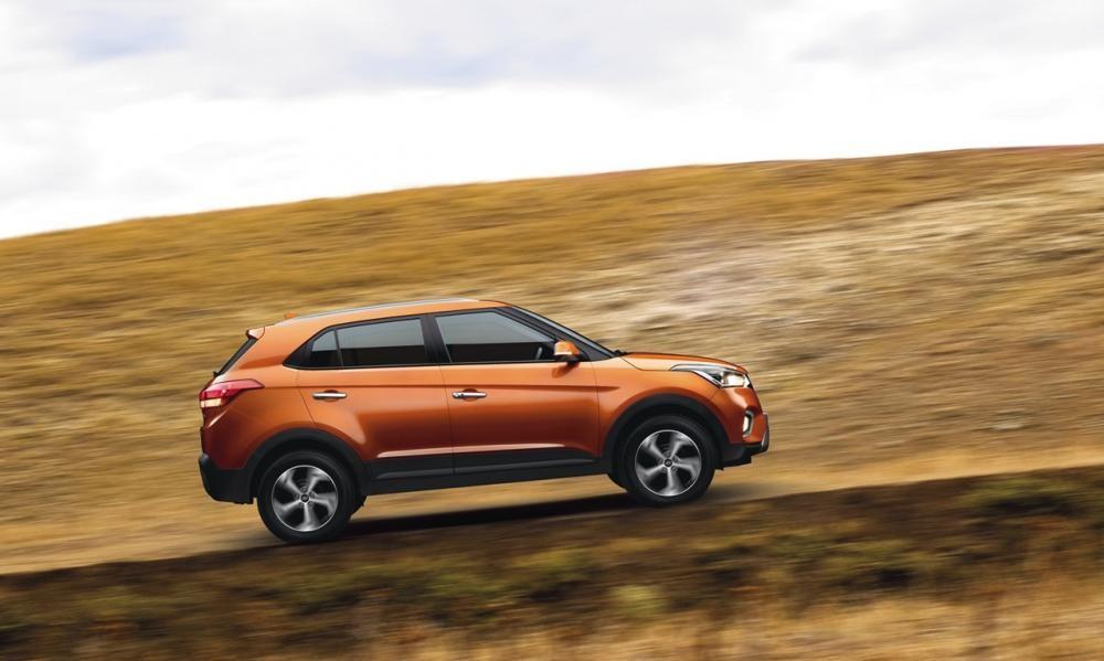 Bộ vành hợp kim 17 inch của Hyundai Creta 2018
