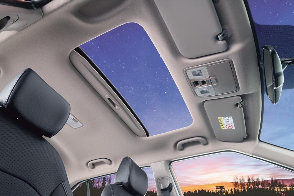 Cửa sổ trời chỉnh điện của Hyundai Creta 2018