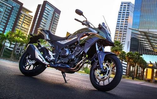 Chiều cao xe Honda CB500X 2018