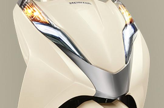 Thiết kế đầu xe Honda Lead