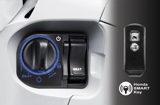 Trang bị hệ thống khóa thông minh Smart Key trên Honda SH 300i