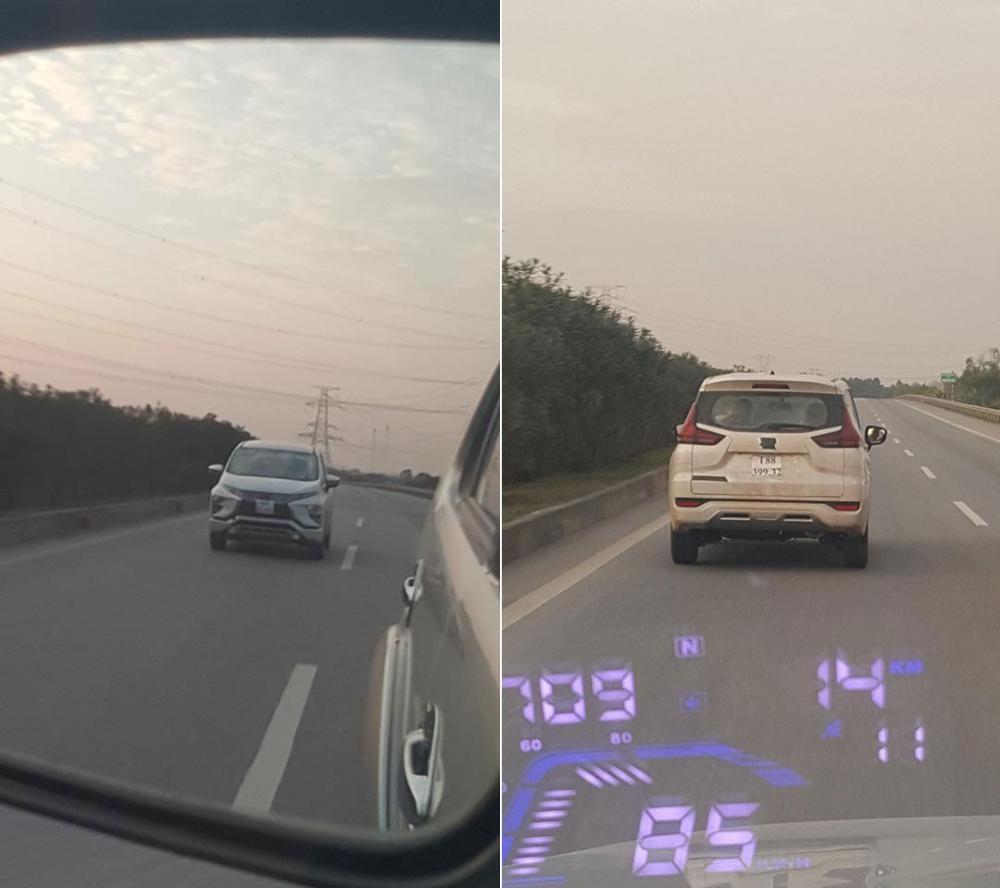 Mitsubishi Xpander chạy thử tại Việt Nam