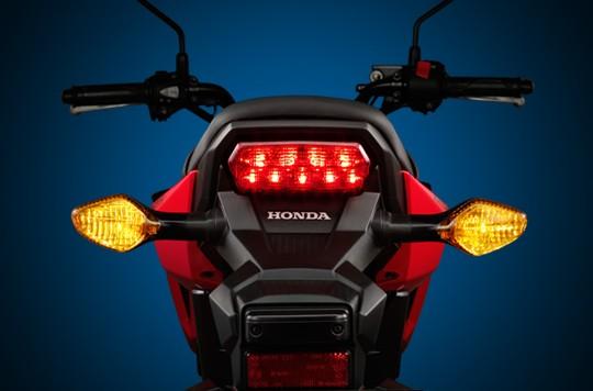 đèn hậu trên Honda MSX