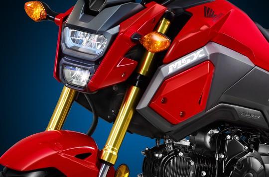 Hệ thống treo trên Honda MSX