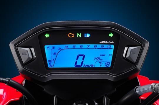 Thiết kế Mặt đồng hồ LCD trên Honda MSX125