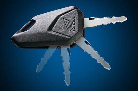 Thiêt kế Chìa khóa xe Honda MSX