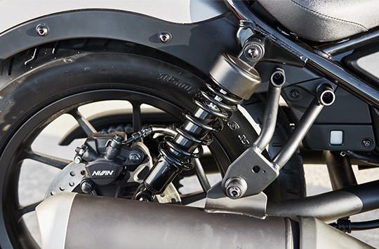 Thiết kế Hệ thống treo trên Honda Rebel 300