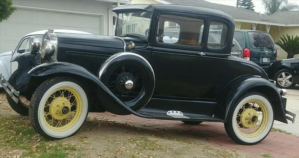 Chiếc Ford Model A đời 1931 của gia đình Smith